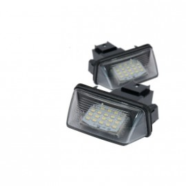 Kentekenverlichting led Citroen Peugeot