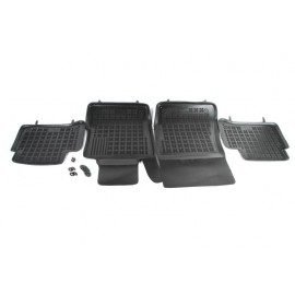 Rubber Automatten Set Mercedes E W211 Sedan